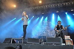 Coldrain - Coldrain performing at the Rock am Ring, 2014.