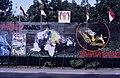 Collectie NMvWereldculturen, TM-20019423, Dia- Schildering ter gelegenheid van het 40-jarig jubileum van de viering van Onafhankelijkheidsdag, Henk van Rinsum, 08-1985.jpg