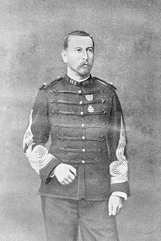 Siege of Tuyên Quang - Chef de bataillon Marc-Edmond Dominé (1848–1920), the commander of the Tuyen Quang garrison