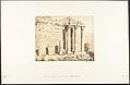 Colonnade occidental du Temple de Jupiter, à Baâlbek (Héliopolis) MET DP131977.jpg