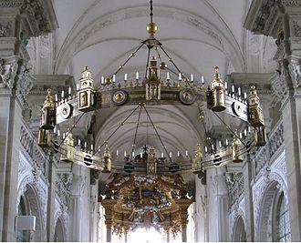 Wheel chandelier - Hartwig's chandelier in Comburg