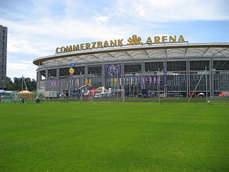 2011 FIFA Women's World Cup - Image: Commerzbank Arena 20.05.2007