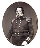 Man in military dress
