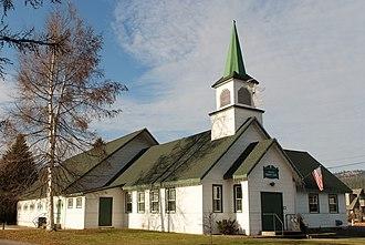 Lakeside, Montana - Image: Community Chapel Lakeside DSCF5249