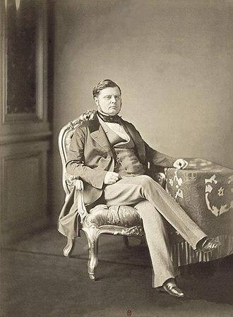 Alexandre Colonna-Walewski - Comte Walewski (1856)