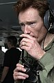 Conan O'Brien speaks to sailors 20030518.jpg