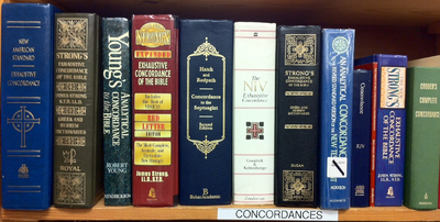 Concordances for the Bible