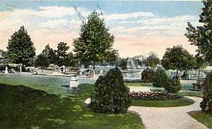 Confederate Park (Jacksonville) - Image: Confederate Park JAX Postcard