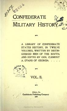 Confederate Military History - 1899 - Volume 2.djvu