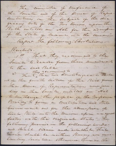 File:Conference committee report on the Missouri Compromise.djvu