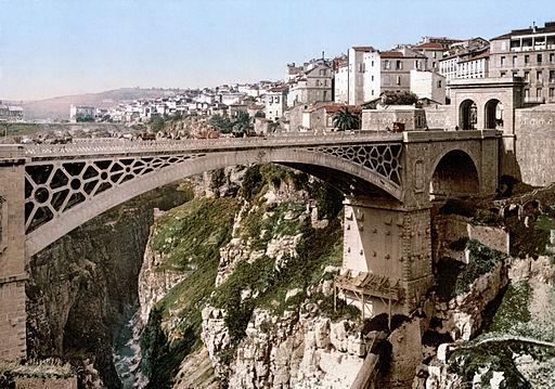 Constantine bridge 1899