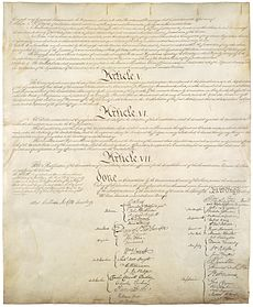 United states constitution and dwight dexter