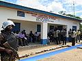 Construction des bâtiments de la radio communautaire Mpiana financée par la MONUSCO. (24162322376).jpg