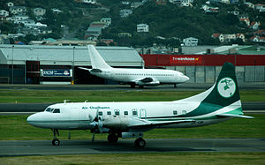 Air Chathams - Air Chathams at Wellington, 21 May 2007