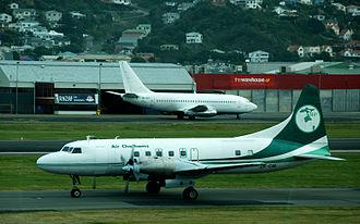 Air Chathams - Air Chathams at Wellington, 21 May 2007