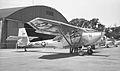 Convair L-13A and Stockton NG hangar (4833316256).jpg