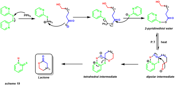 mechanism of Corey-Nicolaou macrolactonization