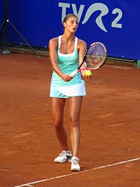 Corinna Dentoni at the 2011 BCR Open Romania Ladies.jpg