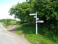Cornish road sign - geograph.org.uk - 448759.jpg