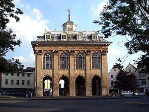 Abingdon-on-Thames - County Hall, completed in 1680