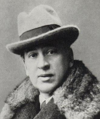 Louis Couperus - Louis Couperus in 1917