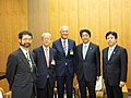 Courtesy Call on Prime Minister Shinzo Abe (34216114493).jpg
