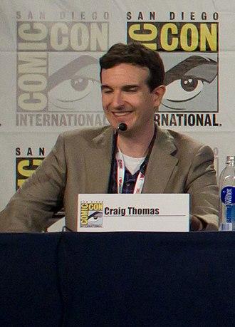 Craig Thomas (screenwriter) - Craig Thomas at the 2013 Comic-Con