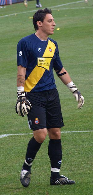 Cristian Darío Álvarez - Álvarez in action for Espanyol in 2009