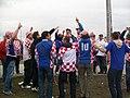 Croatian supporters before Croatia - Italy match, Poznań, June 14, Euro 2012 6.JPG