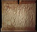 Croatie Amours vendangeurs sarcophage attique de Salone IIIe s Musée de Split.jpg
