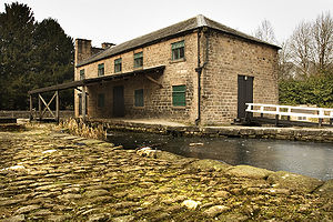 Cromford Canal - The end of the canal, in Cromford