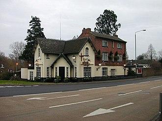 Weedon Bec - Image: Crossroads public house and hotel, Weedon, Northamptonshire