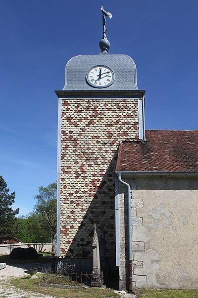 Église de Crouzet-Migette (Doubs).
