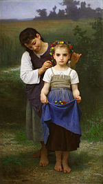 Crown of Flowers (William-Adolphe Bouguereau, 1884).jpg