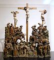 Crucifixion (Calgary), Southern Netherlands, c. 1430-1440, oak, polychrome - Museum Schnütgen - Cologne, Germany - DSC00033.jpg