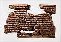 Cuneiform tablet- letter of Sin-sharra-ishkun to Nabopolassar MET DP375611.jpg