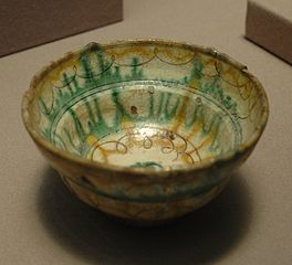 cup with geometrical decoration