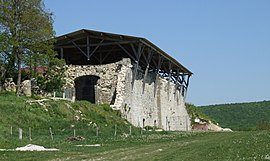 Ruin of the Saint-Vivant Abbey at Vergy
