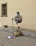 Czech-2013-Prague-Street performers.jpg