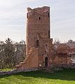 Czersk (powiat mazowiecki), zamek wieża zachodnia 01.jpg