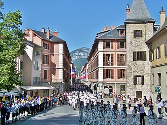 Chasseurs Alpins - 13th Battalion in Chambéry (Savoie)
