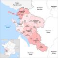 Département Charente-Maritime Arrondissement Kantone 2019.png