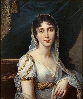 Désirée Clary - An early portrait by Robert Lefèvre