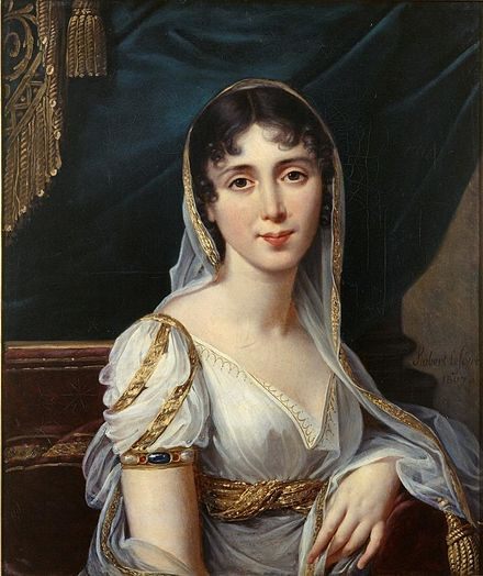An early portrait by Robert Lefevre Desiree Clary1807-Robert Lefevre.jpg