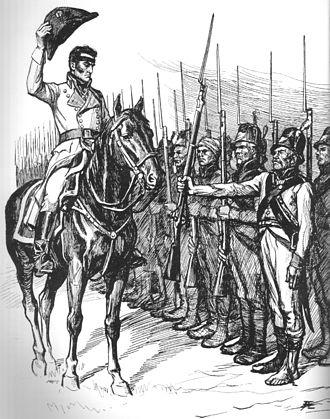 Battle of Jutas - Döbeln at Jutas by Albert Edelfelt