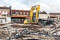 Dülmen, Abbrucharbeiten ehem. KiK-Gebäude -- 2016 -- 1410.jpg