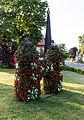 Dülmen, Lüdinghauser Tor als Blumenskulptur -- 2015 -- 6559.jpg