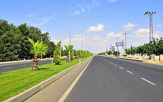 State road D.400 (Turkey) - State road D400 near Şanlıurfa