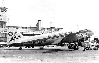 LAN Chile Flight 621 - CC-CLDP, the aircraft involved in the accident.