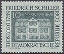 DDR 1959 Michel 733 Schiller.JPG